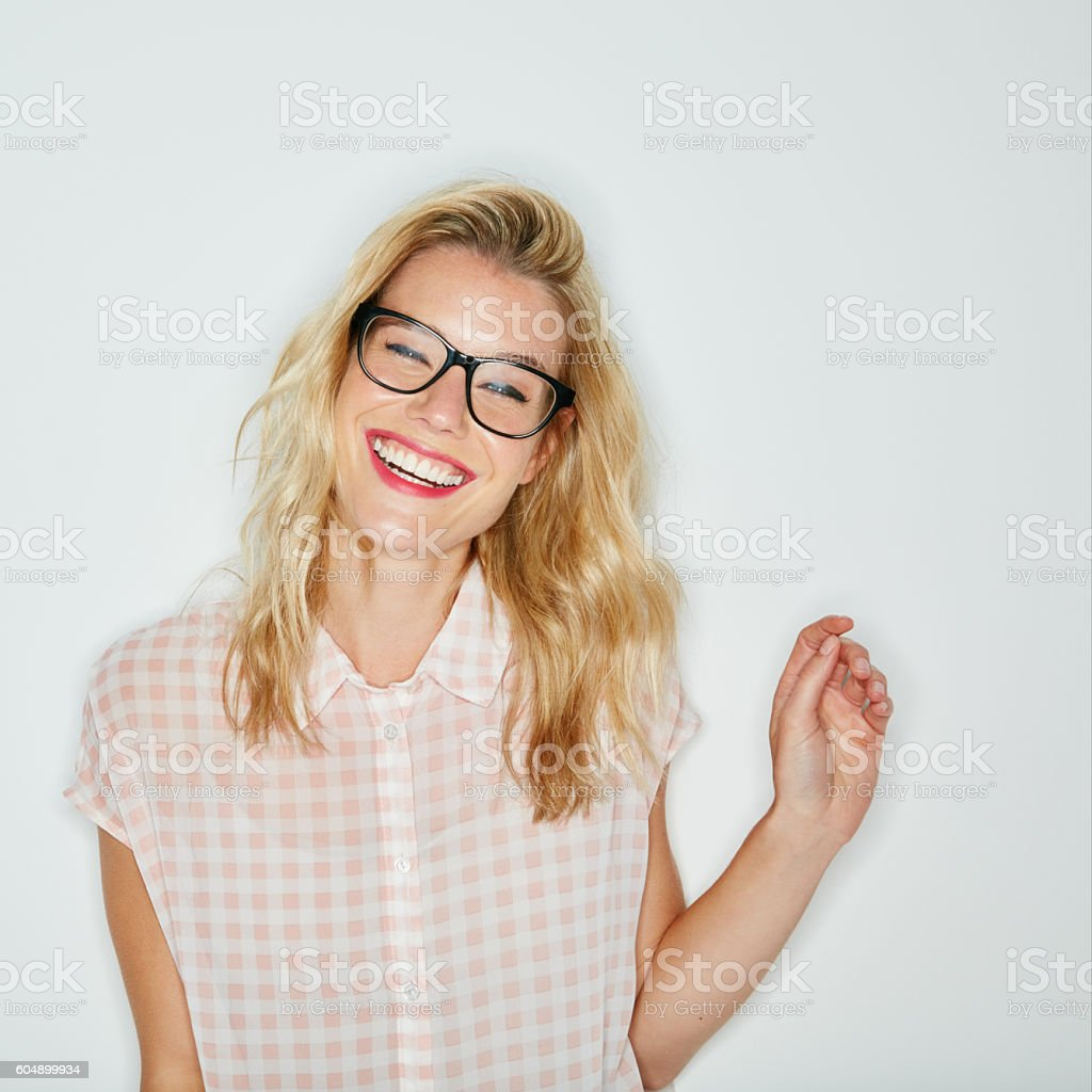I see happiness all around me stock photo
