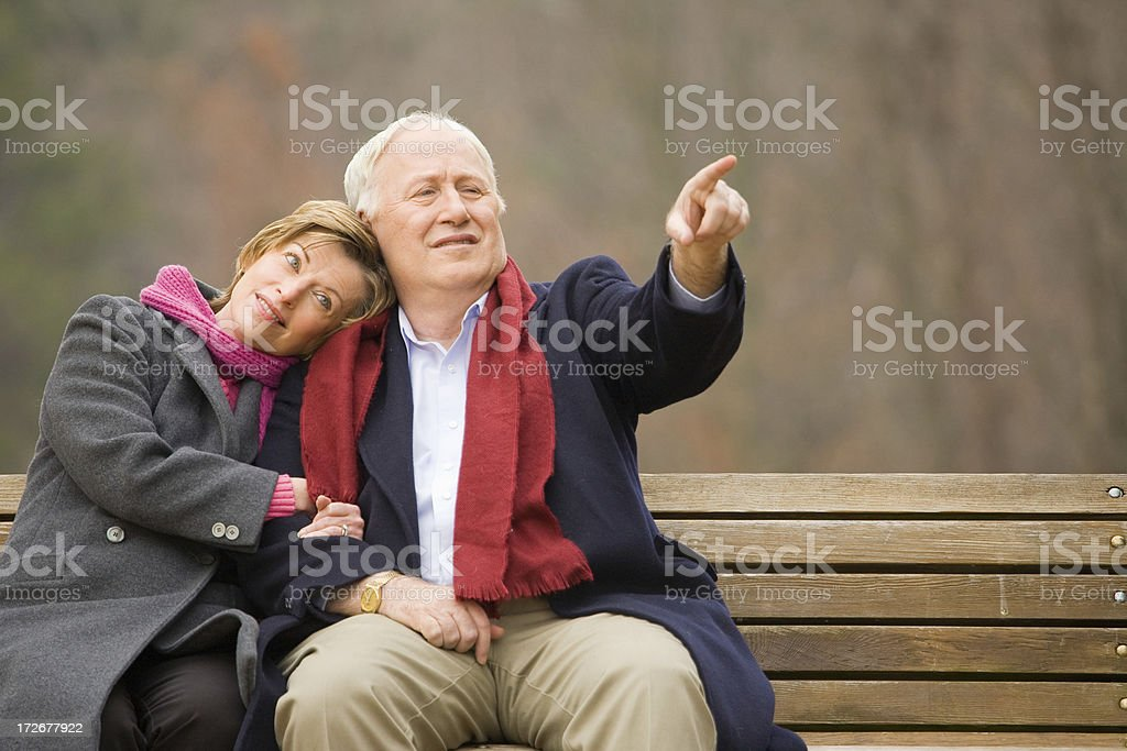 See it is over there dear royalty-free stock photo