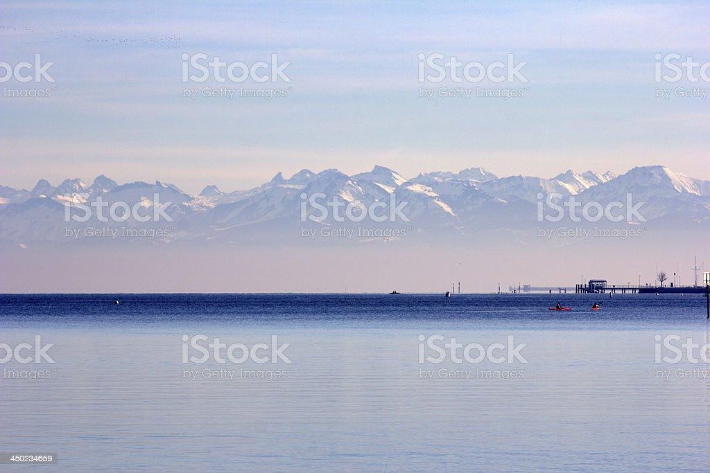 Siehe, Meer, Berge, Alpen – Foto