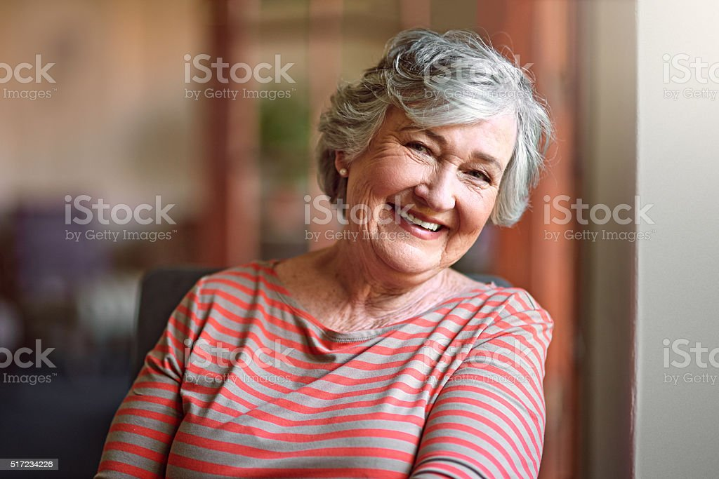 I see no good reason to act my age stock photo