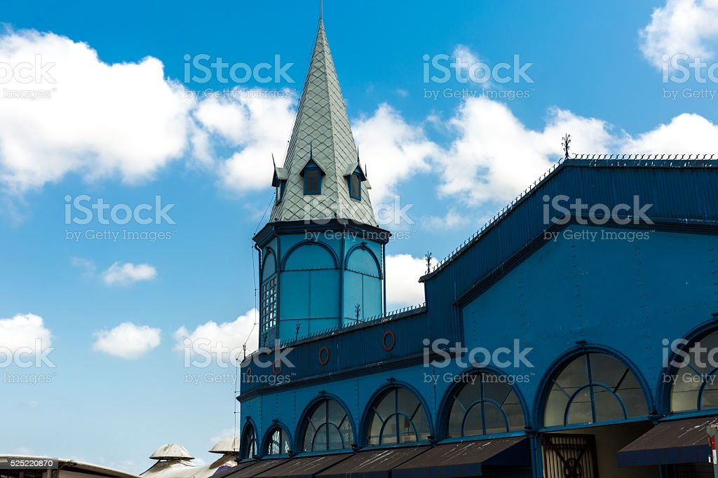 Ver o Peso Market in Belem do Para, Brazil stock photo