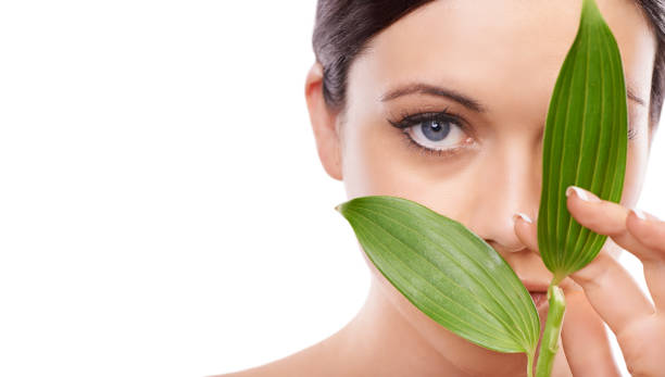 See the advantages of natural skincare stock photo