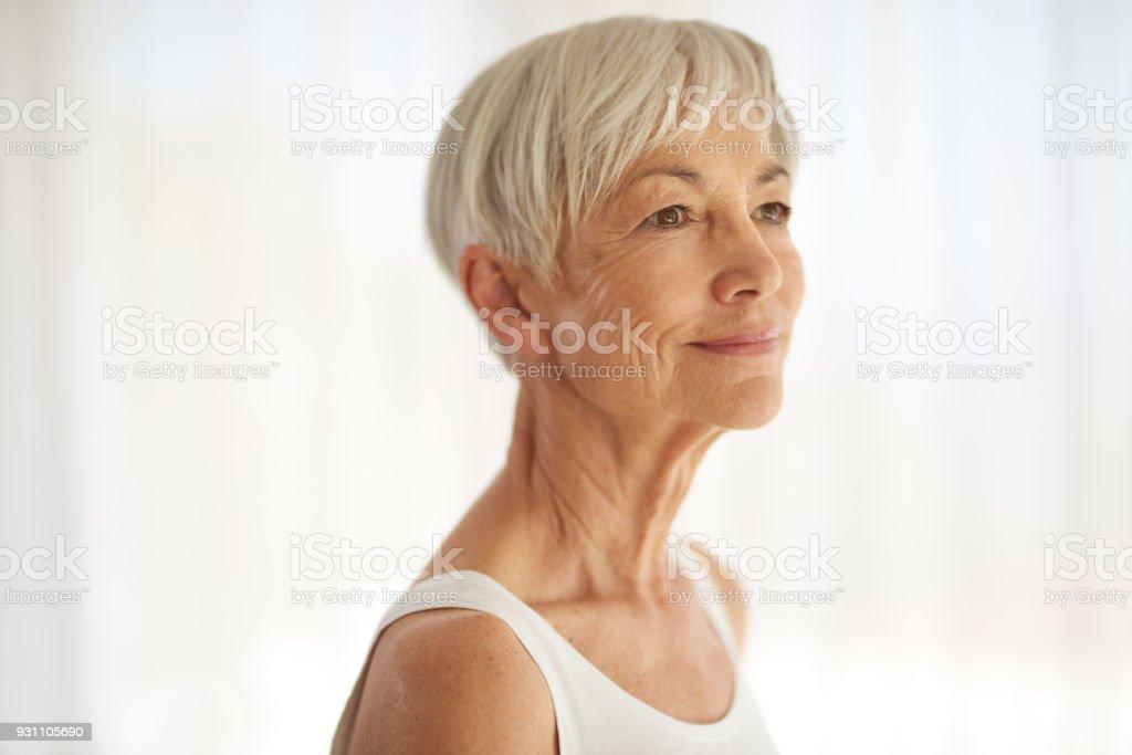 Erleben Sie die Schönheit in jedem Stadium des Lebens - Lizenzfrei 70-79 Jahre Stock-Foto