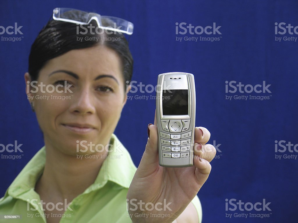 See the message royalty-free stock photo
