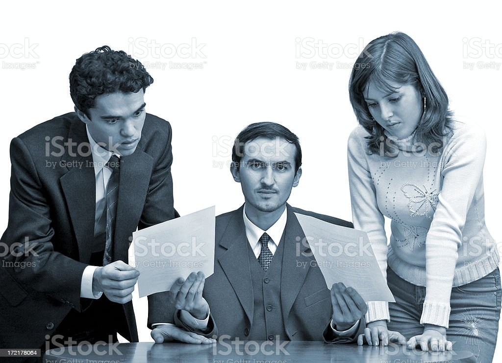 See what you have done!!! royalty-free stock photo