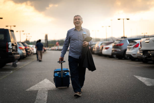 see you next time/ going back home/ business travel - old man feet stock photos and pictures