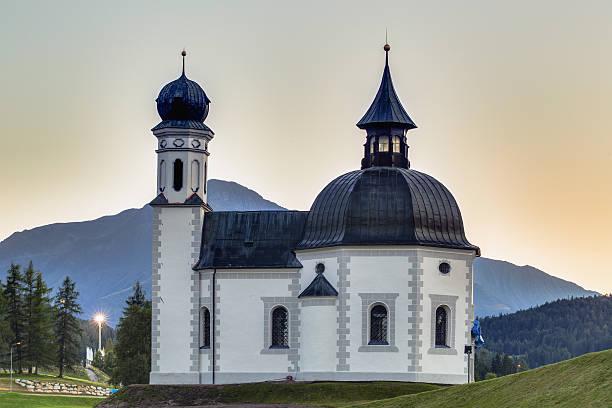 Seefeld in Tirol, Österreich Kirche – Foto