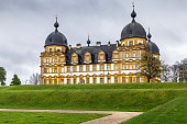 Palace (Schloss) Seehof was built from 1684 to 1695 near Bamberg, Germany