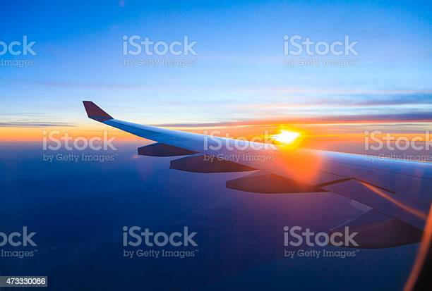 Seeing the sunset on flight picture id473330086?b=1&k=6&m=473330086&s=612x612&h=xu qi54wzjzsvy1nqj3cgezrjjgiu1sl1my pzfbjmk=