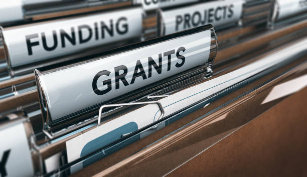 Seeking Grants for an Association, a Small Business or for Research stock photo
