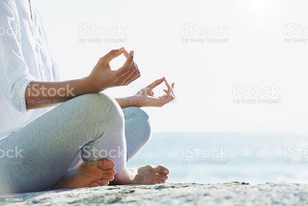 Auf der Suche nach innerem Frieden – Foto