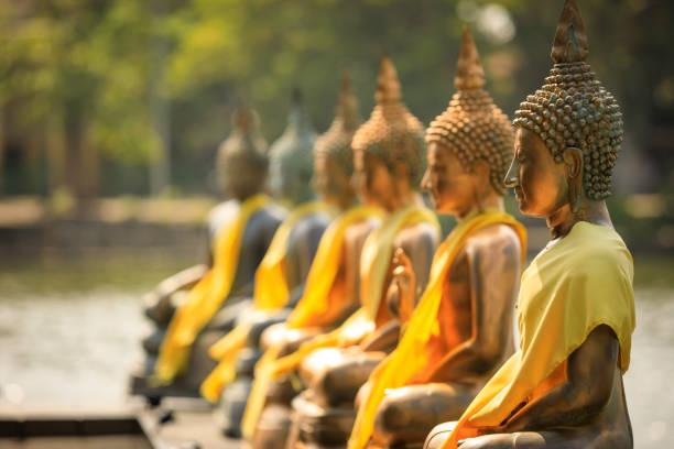 콜롬보에서 장모 말라 사원 - 부처 불교 뉴스 사진 이미지