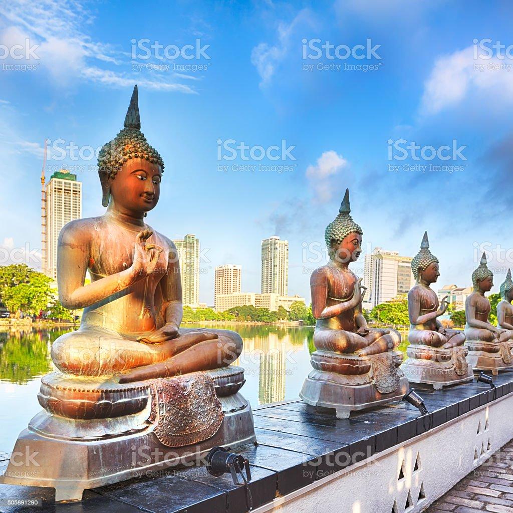 Seema Malaka temple stock photo