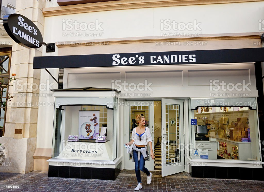 sees candies store the grove los angeles stock photo more pictures