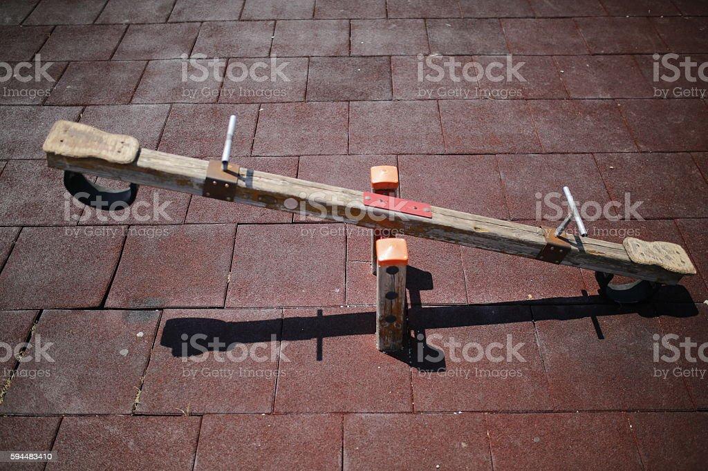Balancín  - foto de stock