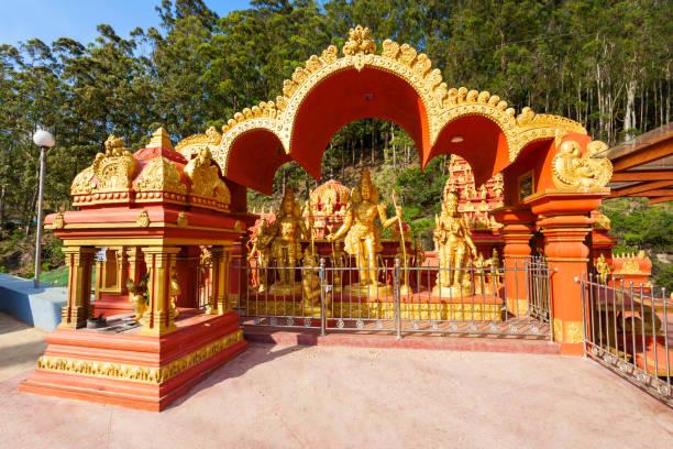 Seetha Amman hindu temple stock photo