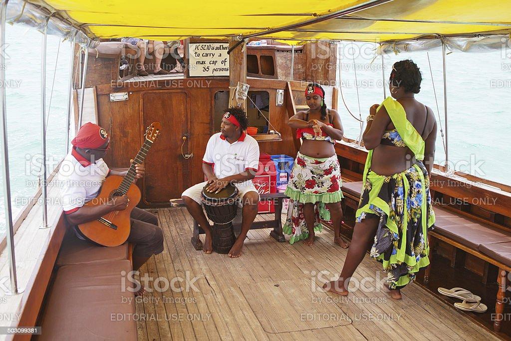 Sega, Mauritius island stock photo