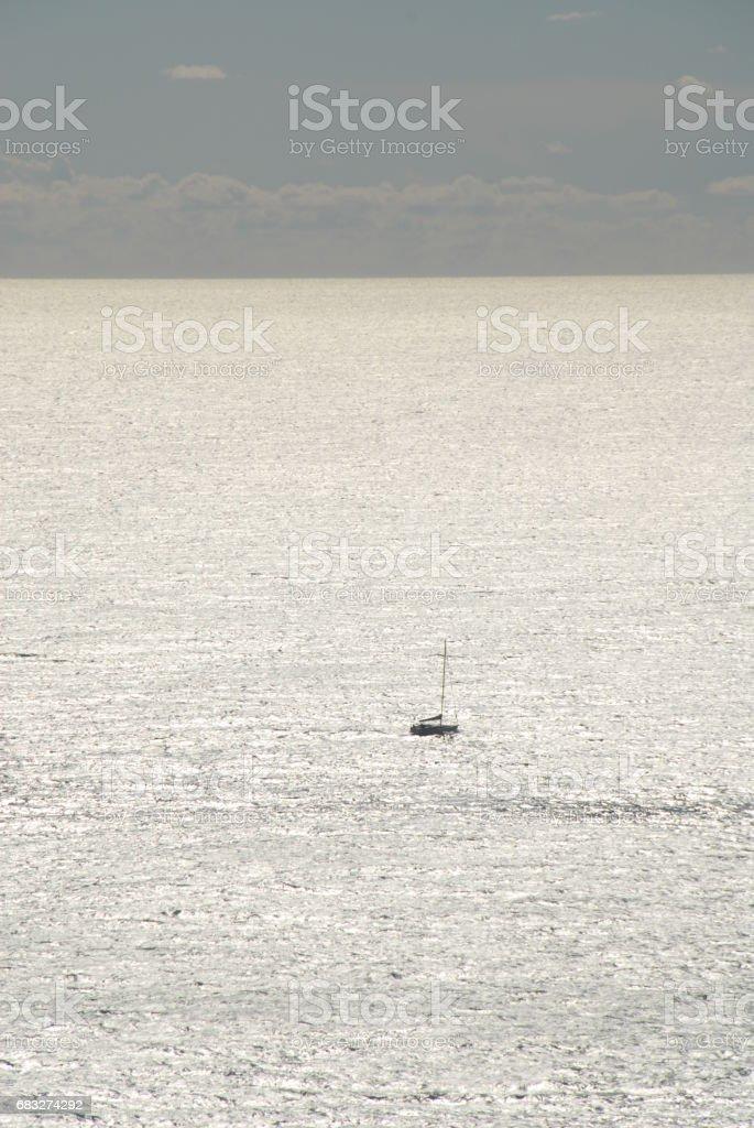 Segelboote auf dem Mittelmeer - Spanien 免版稅 stock photo