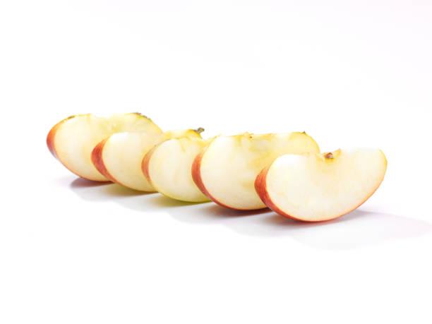 segmented apple stock photo