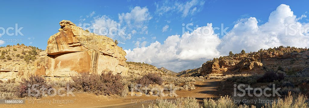 Sego Canyon, Thompson Springs, Grand County, Utah, USA royalty-free stock photo