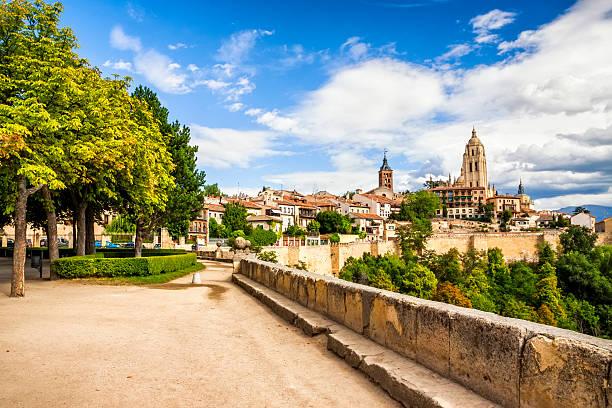 Segovia catedral comunidad autónoma de Castilla y león, España - foto de stock