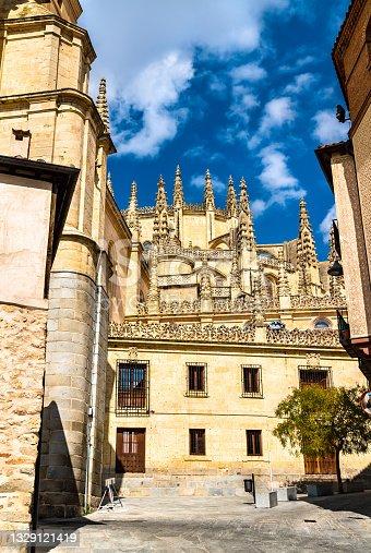 istock Segovia Cathedral in Castile and Leon, Spain 1329121419