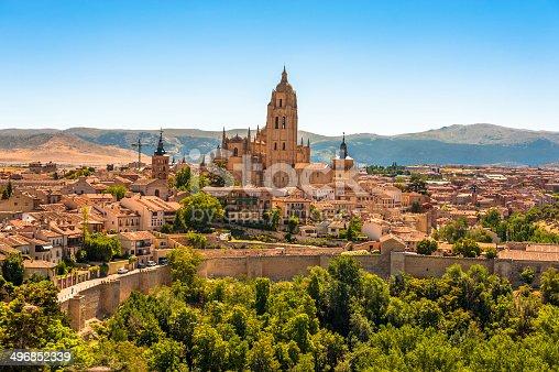 istock Segovia Cathedral Spain 496852339