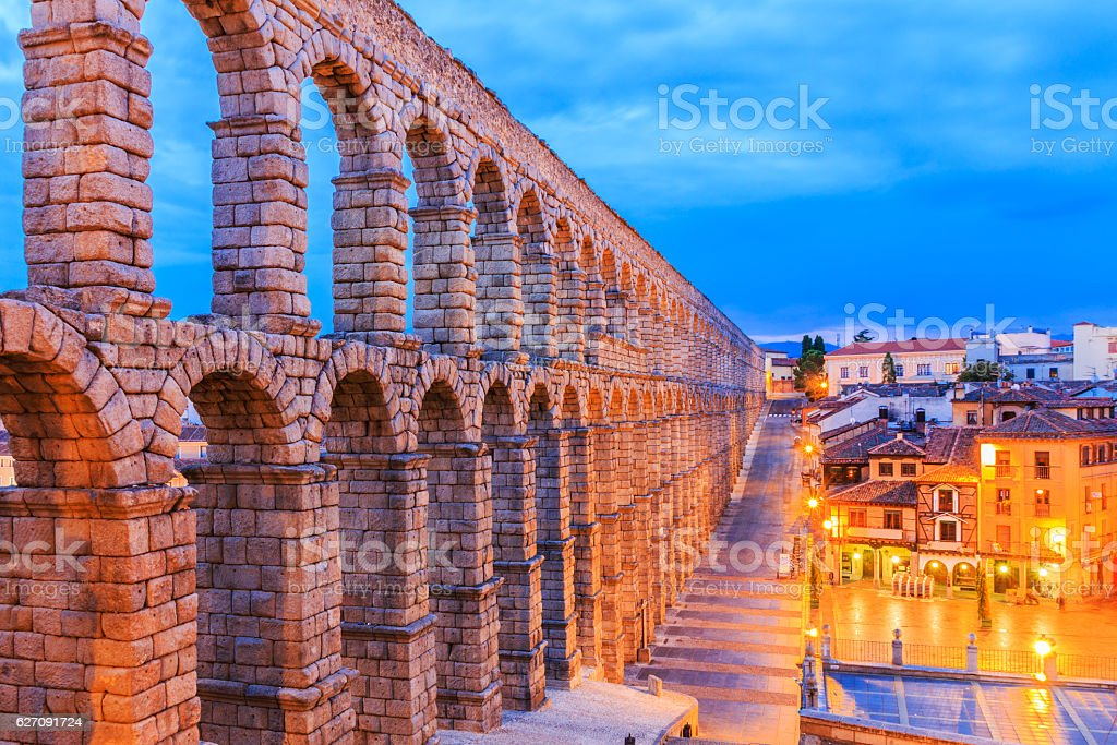 Segovia, Spain. stock photo