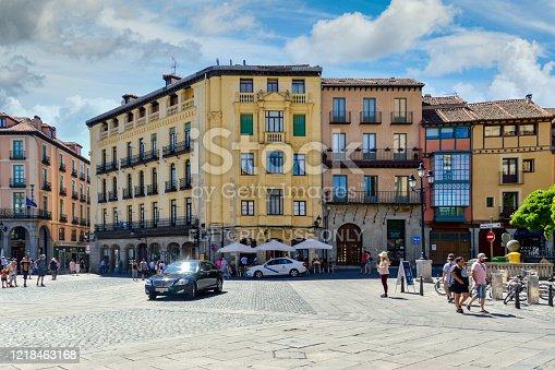 istock Segovia, Spain townscape 1218463168