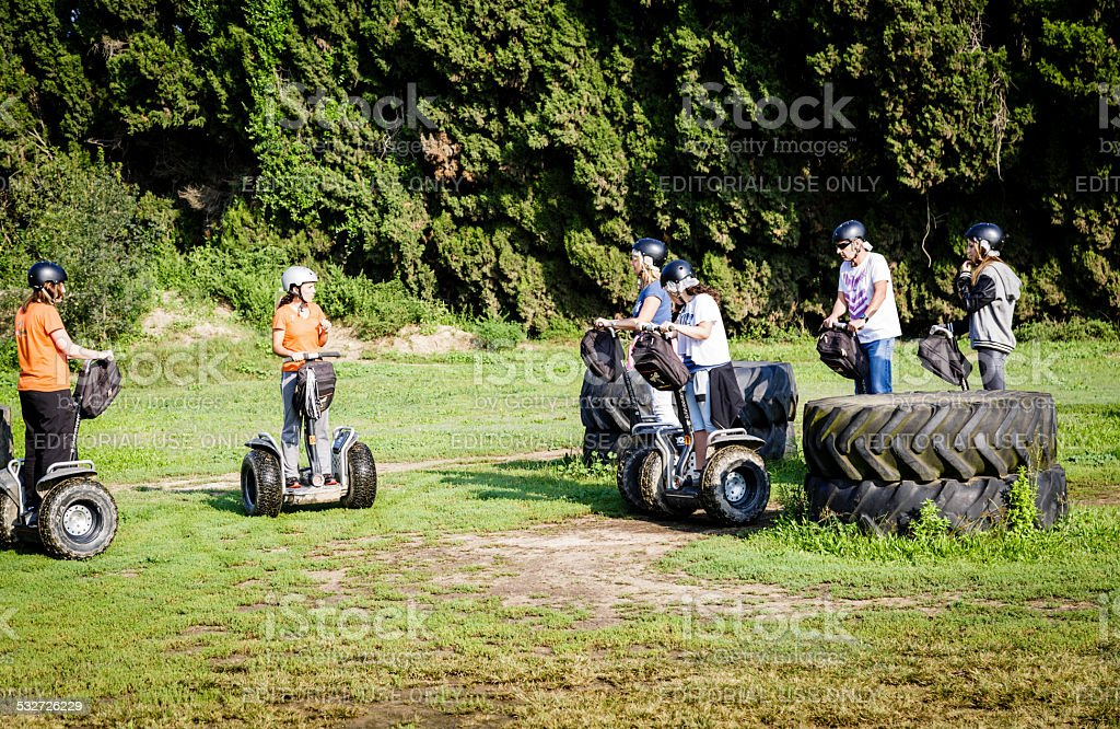 Segway X2 stock photo