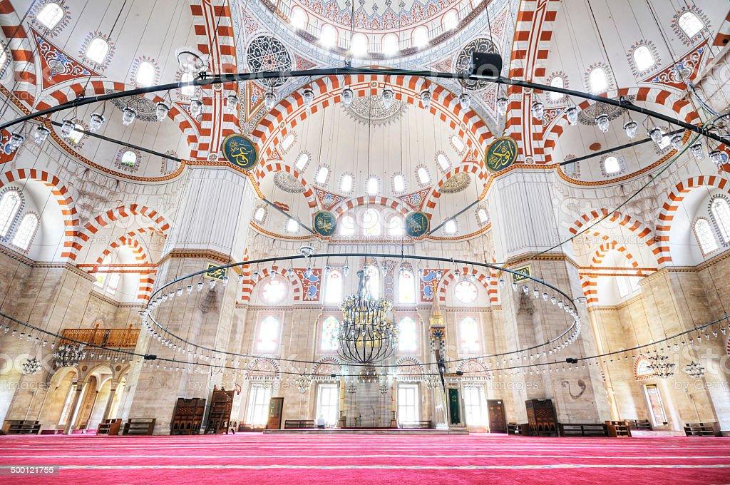 Sehzade Mosque, Fatih, Istanbul, Turkey stock photo
