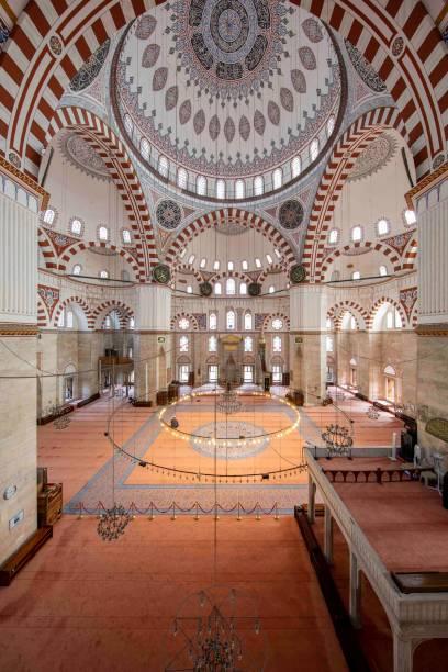 İstanbul'da Şehzade Camii stok fotoğrafı