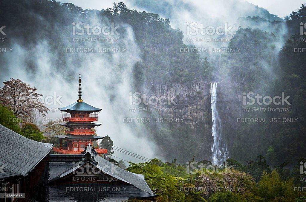 Seiganto-ji temple stock photo