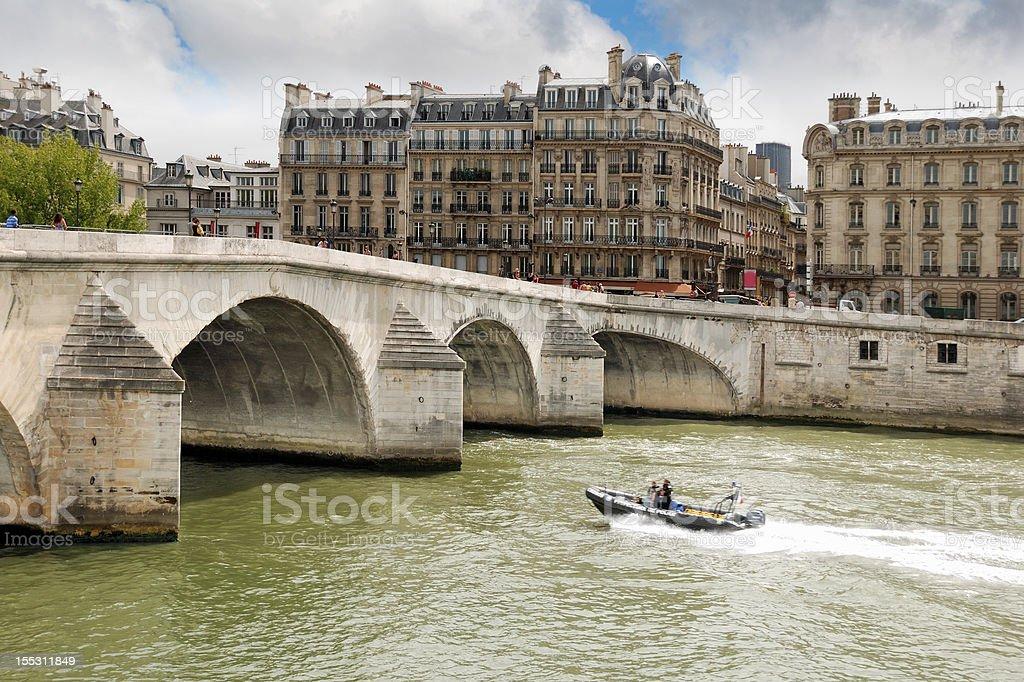 Seine. royalty-free stock photo