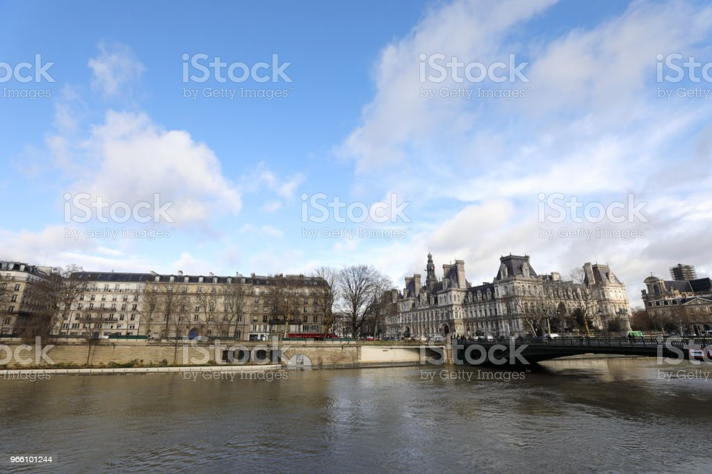 Seine river - Royalty-free City Stock Photo