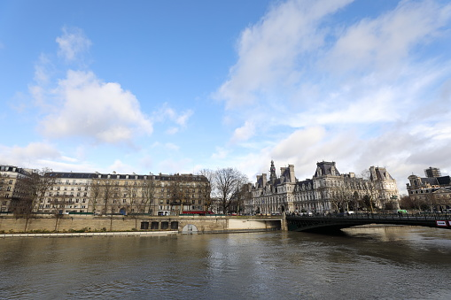 Seine River Stock Photo - Download Image Now