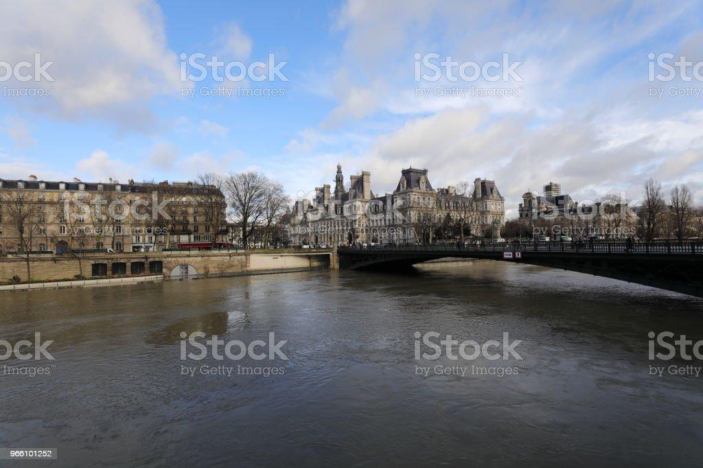 Seine river - Royalty-free City Stock Photo