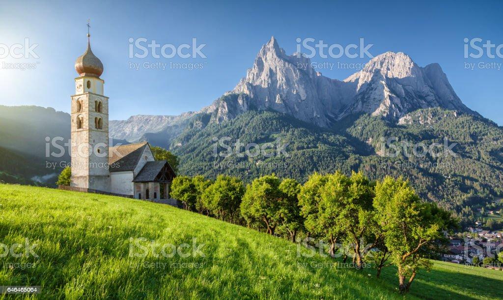 Seis am Schlern, Dolomiten, Südtirol, Italien – Foto