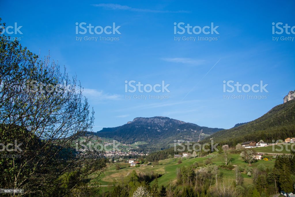 Seis am Schlern, South Tyrol, Italy'n'n stock photo