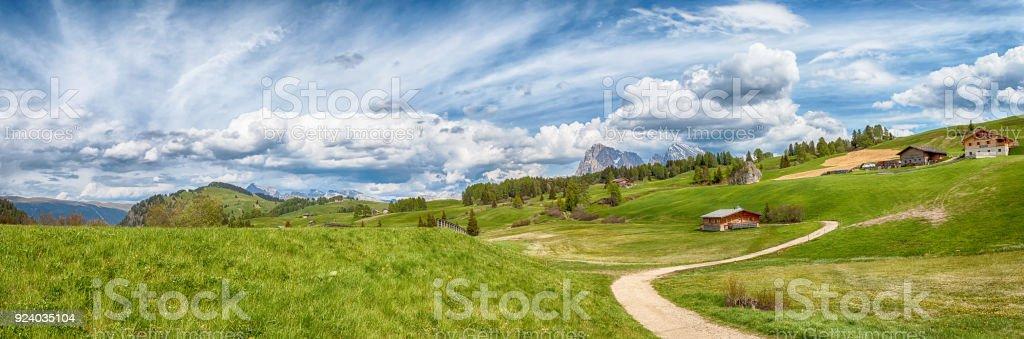 Seiser Alm - Alto Adige lItaly stock photo