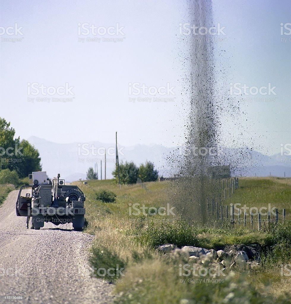 Seismic Blast #2 royalty-free stock photo