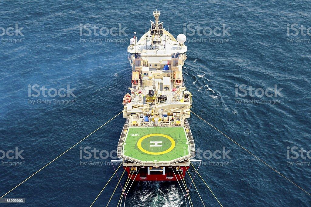Seismic Vessel stock photo