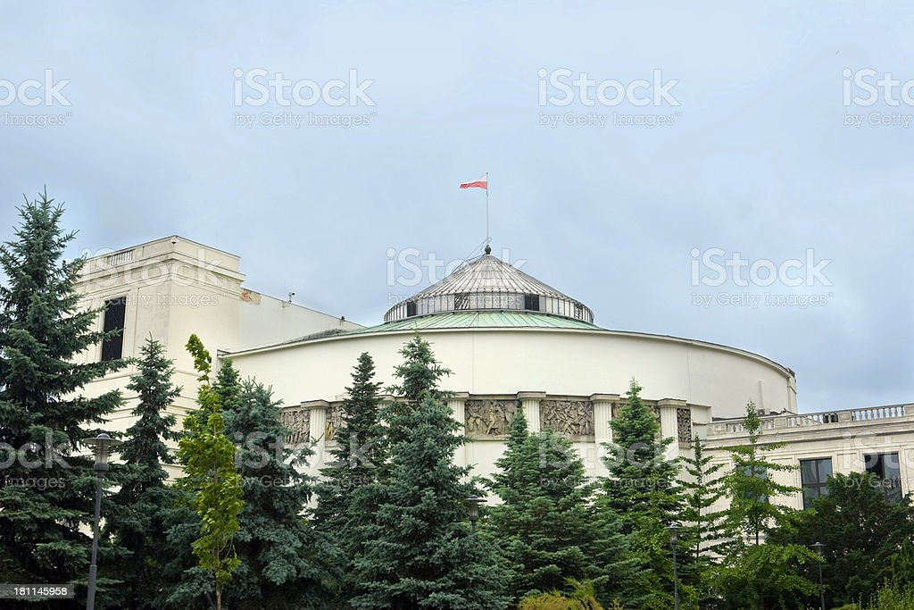 Sejm royalty-free stock photo