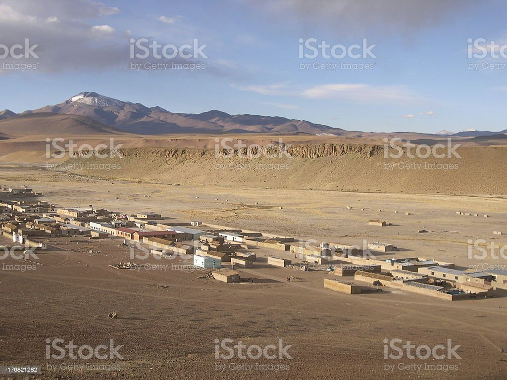 Selar small Village stock photo