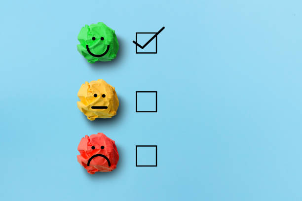 select happy on satisfaction evaluation - evaluation zdjęcia i obrazy z banku zdjęć