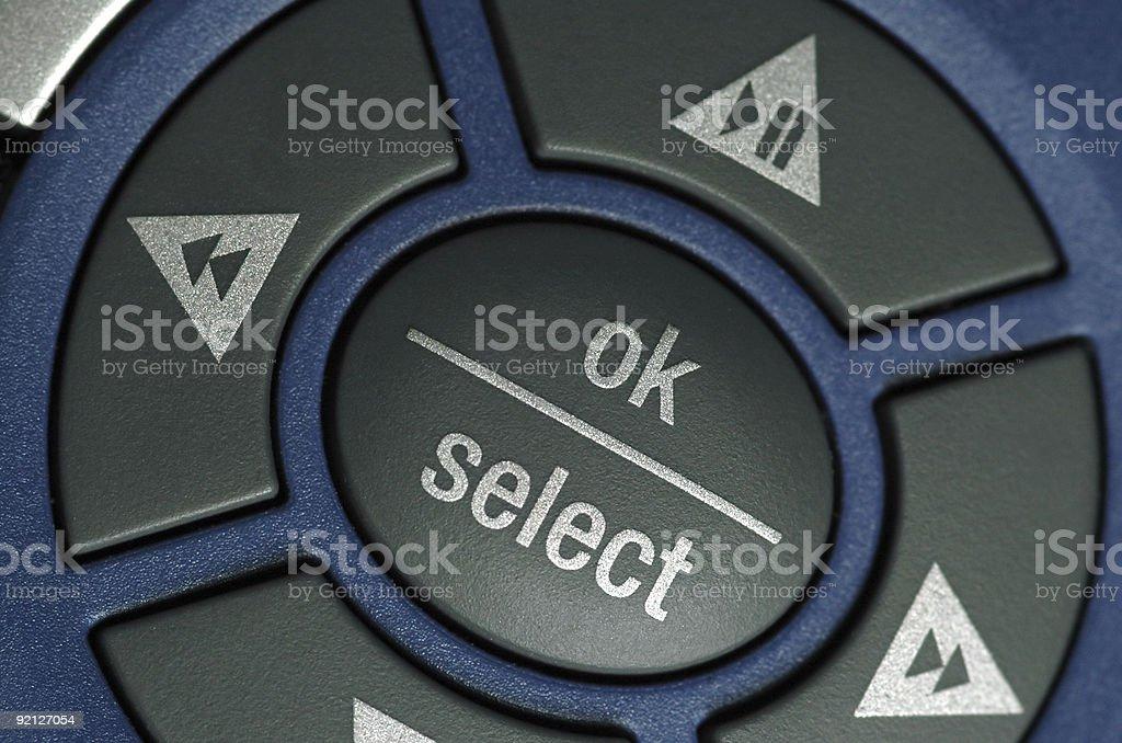 OK Select royalty-free stock photo