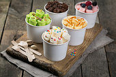 別の選択はロールイン コーン カップ アイスクリーム