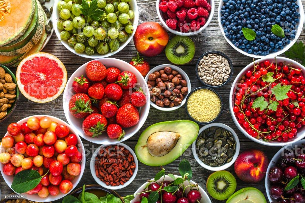 dieta saludable antioxidante