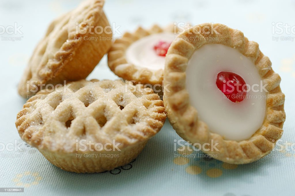 selection of pastries royalty-free stock photo