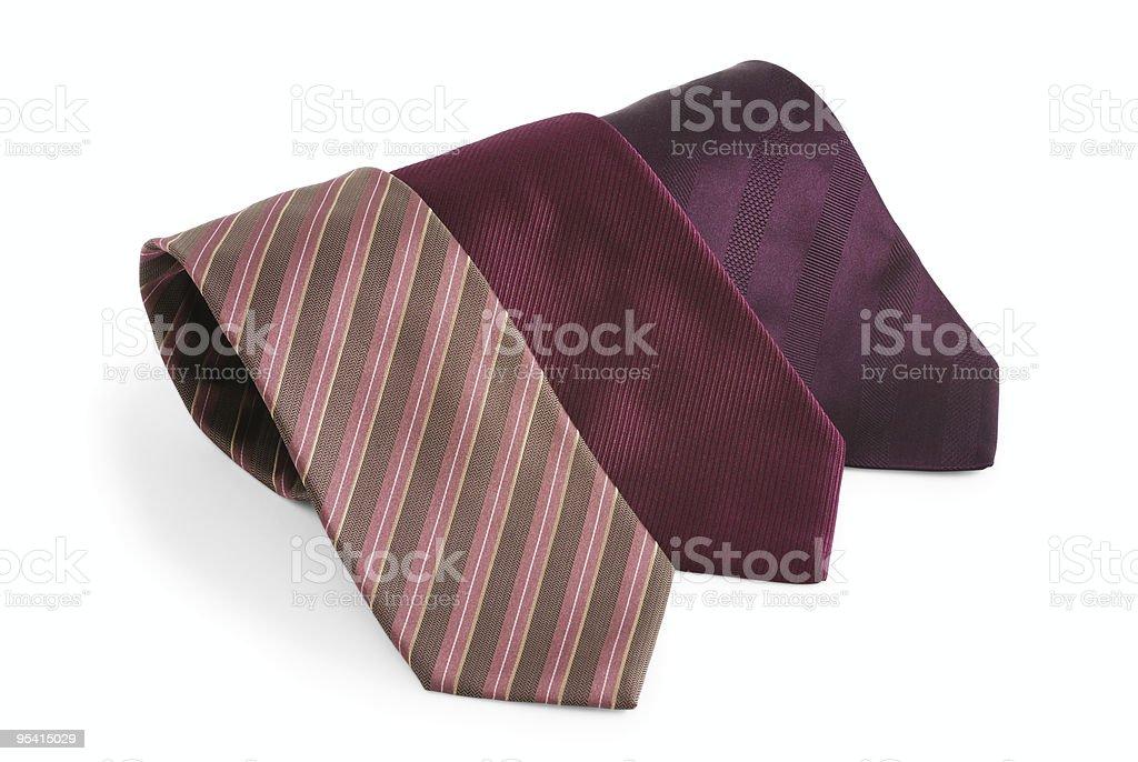 Auswahl an Seidenbändern Lizenzfreies stock-foto